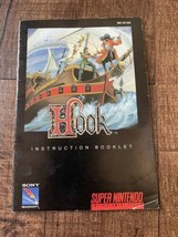 Hook Peter Pan SNES Super Nintendo - Instruction Manual Booklet Only - AUTHENTIC - $18.57