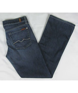 7 For All Mankind Boot cut jeans Blue Womens Size 29 - $18.76