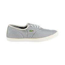 Lacoste Rene II Mesh PIQ SPM Textile Men's Shoes Grey 7-29spm2008-12c - $74.95