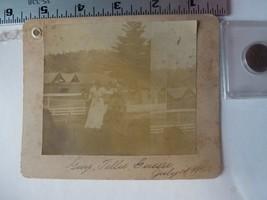 Cabinet Photo-Gary Tillie & Gussie Enjoying The Sun Allentown PA 1898 - $33.78