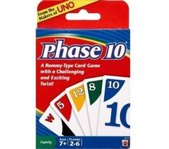 NEW!! Phase 10 Card Game FREE UK DELIVERY!! - $21.81