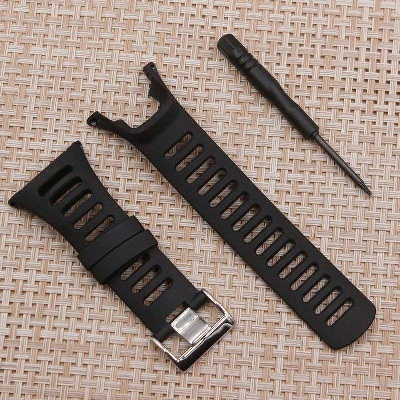 Strap for SUUNTO Ambit 1 2 3 2R 2S 24mm Men's Watch Rubber Band Bracelet Tools - $20.80 - $23.77