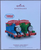 Hallmark 2018 Thomas and Percy Friends Tank Engine Train Christmas Ornam... - $12.95