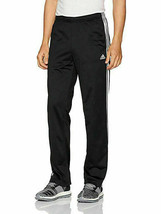 Adidas Men's Gameday Track 3 Stripe Pants BLACK/WHITE MEDIUM - $27.71