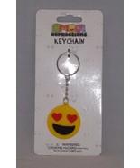 Almar Emoji Expressions Key Chain Ring  - New - Love Emoji - $4.74