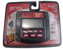1994 Tiger Bicycle Video Black Jack Electronic Card Game New Sealed 75-035 - $9.79