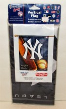 "WinCraft NY Yankees Vertical Flag 27"" x 37"" Outdoor Indoor Polyester NEW - $19.99"