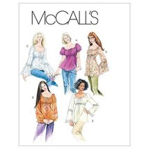McCall's Patterns M5050 Misses' Tops and Tunics, Size Y (XSM-SML-MED) - $15.68