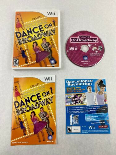 Primary image for Dance on Broadway Nintendo Wii Game 2010 Ubisoft With Manual