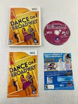 Dance on Broadway Nintendo Wii Game 2010 Ubisoft With Manual - $5.00