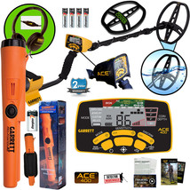 Garrett ACE 400 Metal Detector with Headphones & Propointer AT, Free Acc... - $8.989,89 MXN