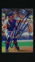 Ivan Rodriguez Signed Autographed 1994 Flair Baseball Card - Texas Rangers - $19.99