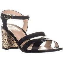 Cole Haan Jianna Mid Sandals, Black, 9 US - $61.43