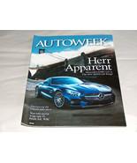Autoweek January 2015 Car Truck Magazine Herr Apparent Mercedes AMG GT S... - $9.29
