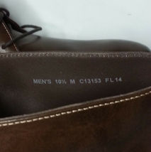 Cole Haan Men Size 10.5 Brown Leather Copley Chukka Boots Made in India New Box image 8