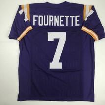 New LEONARD FOURNETTE LSU Purple College Custom Stitched Football Jersey... - $49.99