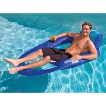 Floating Pool Recliner Water Fun Outdoor Swimming Summer Fun Living Beac... - $74.50