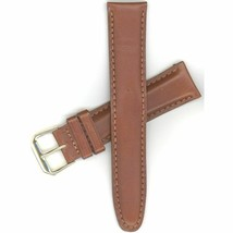 "Seiko 20mm Brown Long Length Padded Leather MS9519XL Watch Band ""21963"" - $60.00"