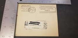 1944 WW2 War & Navy Departments V Mail Service Letter From War W/ Envelope - $15.44