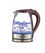 Brentwood Tempered Glass Tea Kettles, 1.7-Liter, Purple - $51.58