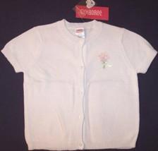 NWT Gymboree SS White Sweater, Garden Bloom, 18-24M, $32.50 - $11.99
