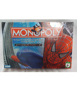 Parker Brothers Spider Man Monopoly Board Game ... - $24.74