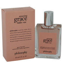 Amazing Grace Ballet Rose by Philosophy 2 oz EDT Spray for Women - $50.30