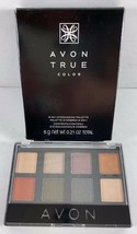 AVON True Color 8-In-1 Eyeshadow Palette  .21 oz  SMOKY NIGHTS - $9.89