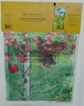 New Creative 25563 Kitten Birdhouse Garden Banner 100 Percent Polyester image 2