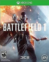 Battlefield 1 (Microsoft Xbox One, 2016) Case and Disc Fast Free Shipping - $7.99
