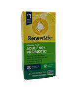 Renew Life Ultimate Flora Adult 50 + Probiotic 30 Billion, 30 Veg caps E... - $18.81