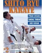 Shito Ryu Japanese Karate #2 Cracking Code of Kata Sandan Yondan DVD Bil... - $22.50