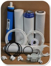 Reverse Osmosis RO Service and Maintenance Kit with Replacement Filters and Memb