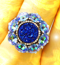 HAUNTED RING EXPANSIVE GREAT VISION SEE ALL EXTREME MAGICK MYSTICAL TREA... - $447.77
