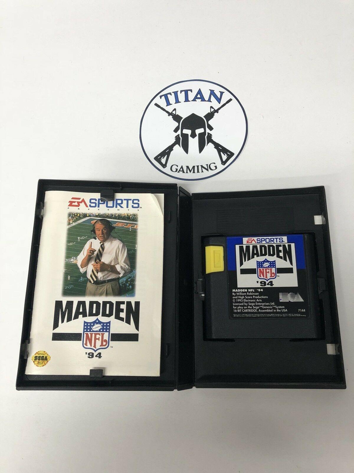 Madden NFL '94 (Sega Genesis, 1993)