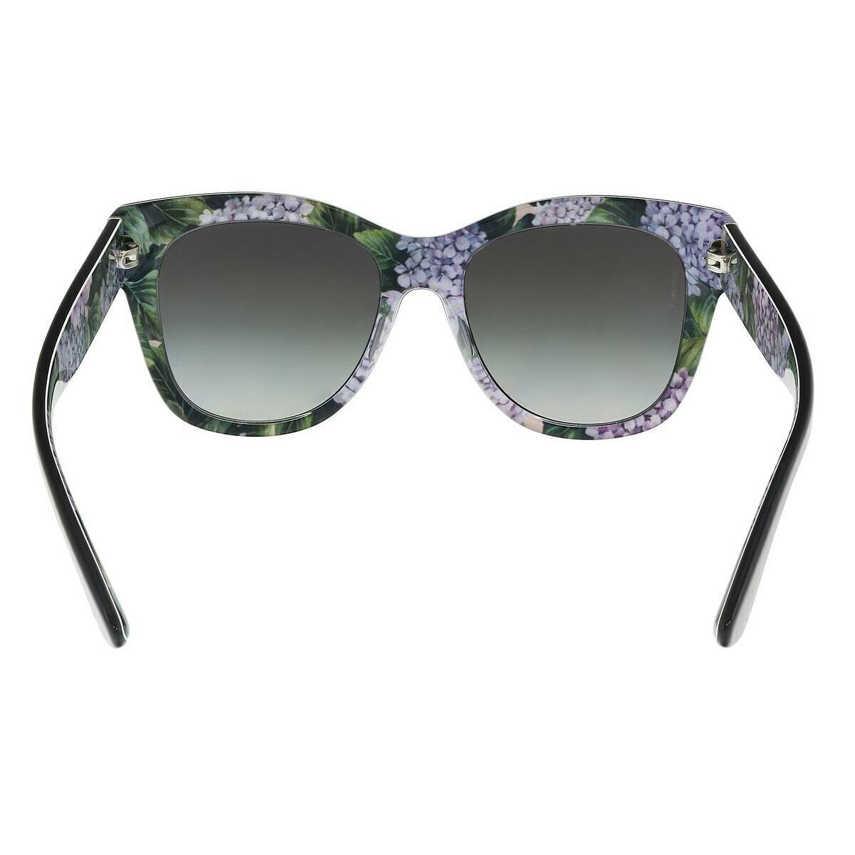 NEW AUTHENTIC Dolce & Gabbana Sunglasses DG4270F 3151/8G Gray Hydrangea