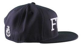 Crooks & Castles F. W. U Fu K With US Navy Scuro Snapback Baseball Cappello Nwt image 3