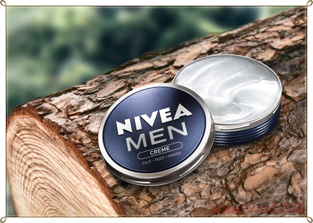 TOP NIVEA MEN CREAM  30 ml Face Body & Hands Moisturiser Dry Skin