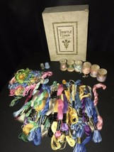 Lot of Vintage Perlene Embroidery Cotton Thread Coats & Clarks DMC - $49.49