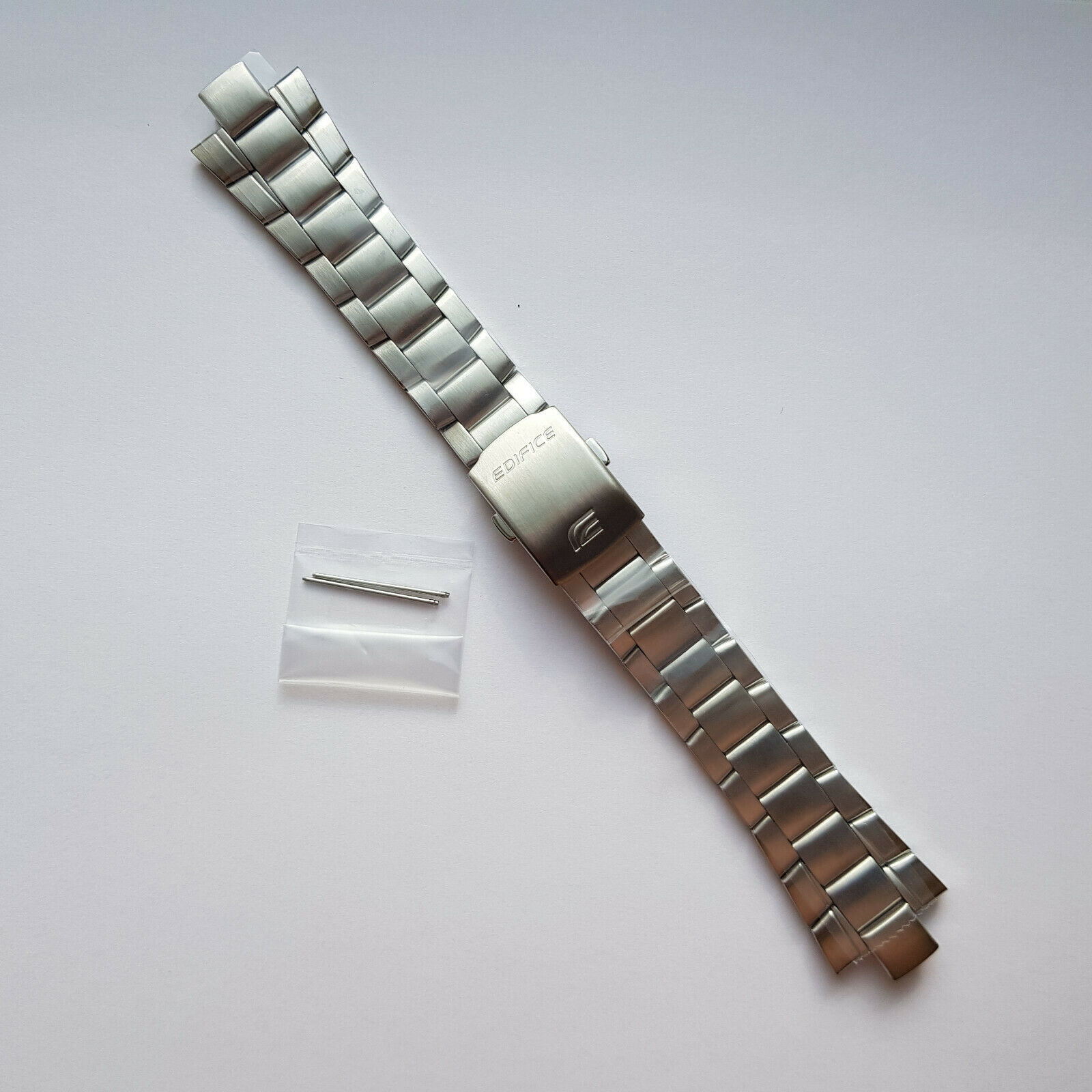 Primary image for Genuine Replacement Watch Band 10mm Stainless Steel Bracelet Casio EF-125D-1A