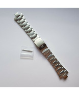 Genuine Replacement Watch Band 10mm Stainless Steel Bracelet Casio EF-125D-1A - $31.60