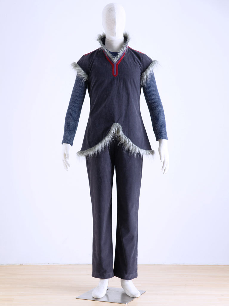 Disney Movie Frozen Kristoff Outfit Man Cosplay Costume