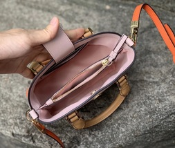 Tory Burch Robinson Color Block Top Handle Mini Bag image 6