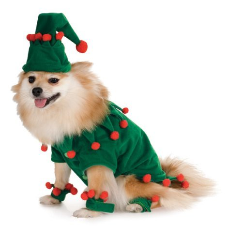Elf Pet Costume, Large