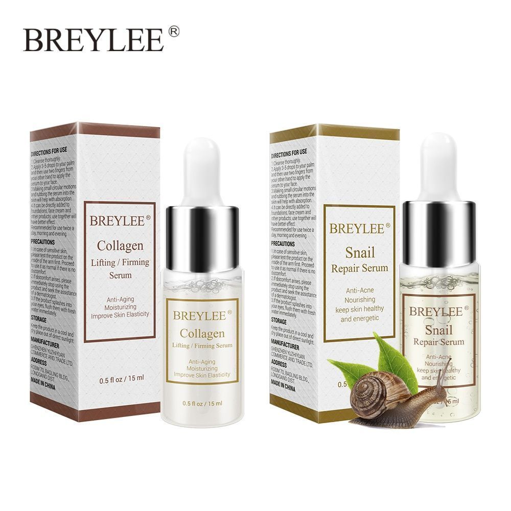 Primary image for Snail Serum Collagen Serum Repairing Lifting Firming Essence Hyaluronic Acid