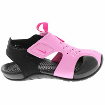 Nike Kid's Sunray Protect 2 (TD) Sandal Psychic Pink/Fuchsia/Black 94382... - $66.45