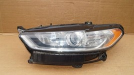 13-16 Ford Fusion Halogen Headlight Head Light Lamp Driver Left Side LH image 1