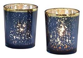 Kate Aspen Mercury Glass Tea Light Holder, Wedding/Party Decorations (Se... - $16.97