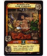 Conan CCG #089 Elbow to the Throat Single Card 1VC089   - $1.10