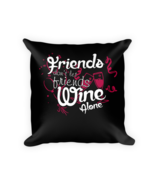 Wine pillows - Square Pillow Case w/ stuffing - $23.00